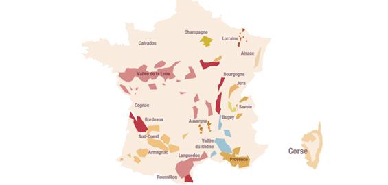 Cartes viticoles